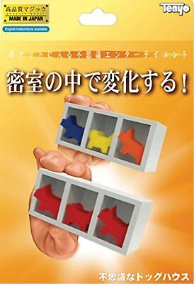 Tenyo 116623(E) MYSTERY DOGHOUSE (Magic Trick) Free Ship w/Tracking# New Japan