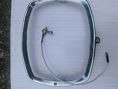Lambretta Gp Headlight Rim Chrome With Earth Wire Clearance