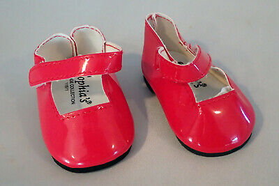 Red Patent Mary Jane Dress Shoes Fits 18 inch American Girl Dolls