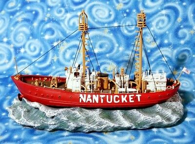 Lightship Nantucket Light Vessel Anchor Bay Harbour Lights 2003 AB 115