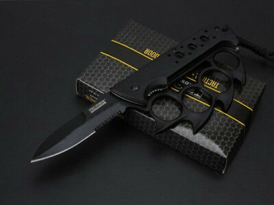 Tirapugni Coltello Black Swat !! Unico Da Collezione Brass Knuckles !