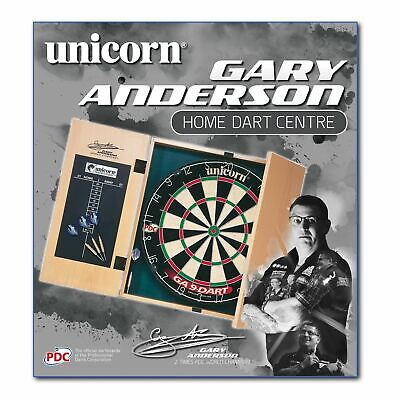 Unicorn Gary Anderson Home Darts Centre Unisex Dart Board Wooden