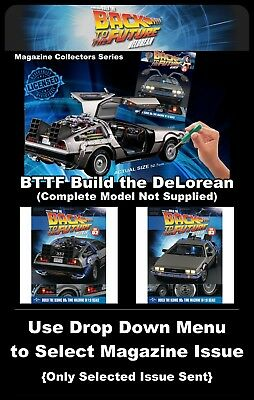 Eaglemoss Back to the Future : Build The DeLorean: Magazines & Parts - New