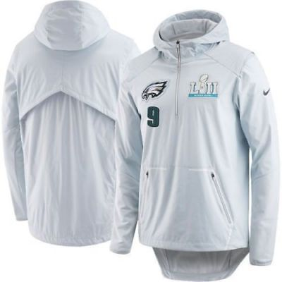 Nike Eagles Nick Foles Super Bowl LII Media Day Jacket LIMITED EDITION - Large