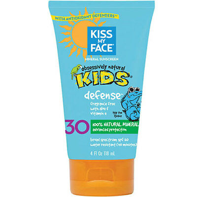 Kids Defense Mineral SPF 30 Sunscreen Lotion 4 oz