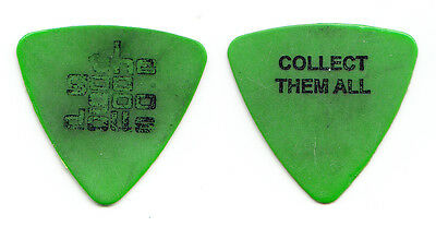Vintage Goo Goo Dolls Robby Takac Concert-Used Green Bass Guitar Pick