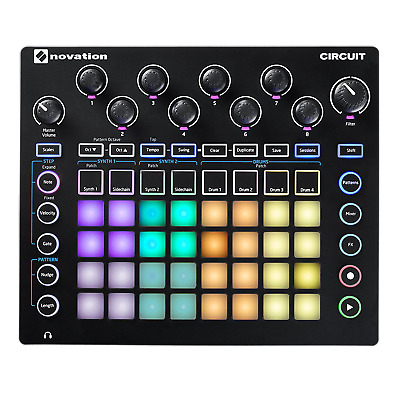 Novation Circuit Groove Box Drum Machine & Synth