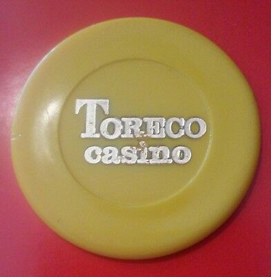 Toreco Casino Yellow Poker Chip From Europe Location Unknown?