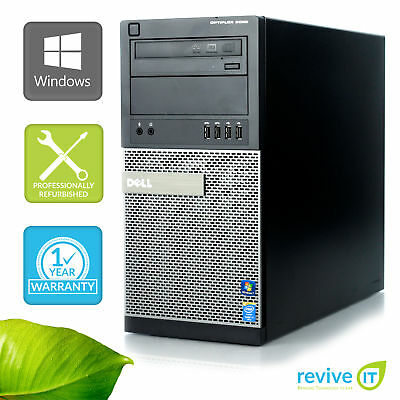 Custom Build Dell Optiplex 9020 MT  i7-4770 3.40GHz Desktop Computer PC