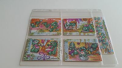 Puzzle Completo 1997 Die Dapsy Dino Family + Tutte Bpz + Cartina Serie