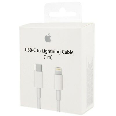 Apple 3.3' USB Type C-to-Lightning Charging Cable MK0X2AM/A - In Retail Box