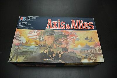 Vintage 1986 Axis & Allies Board Game from Milton Bradley