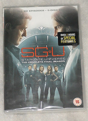 SGU: Stargate Universe Complete Season 2 (Final) DVD Box Set - UK Region 2 NEW