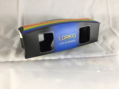 10 LOREO LITE 3-D Viewers for 3D Prints taken with 3-D Cameras