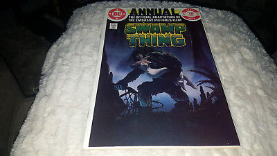 The Saga of Swamp Thing Annual #1 ([June] 1982, DC) VF+/NM-