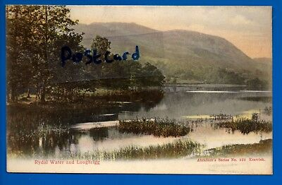 Old Postcard Rydal Water Loughrigg Cumbria Nr Ambleside Keswick Coniston Kendal & TENT Lodge Coniston Vintage Real Photo Postcard 915C - £1.50 ...