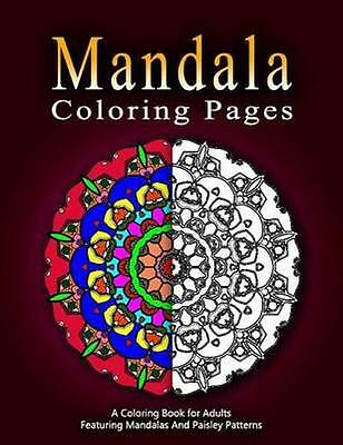 NEW Mandala Coloring Pages Volume 10 By Jangle BOOK Paperback