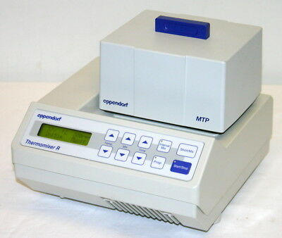 Eppendorf Thermomixer R Dry Block Heating And Cooling Shaker, Model 5355