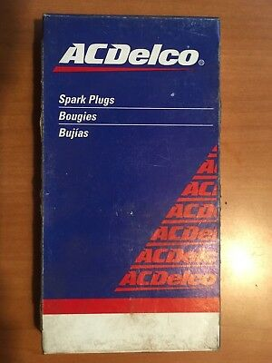 Six (6) Acdelco R42Ts Spark Plugs