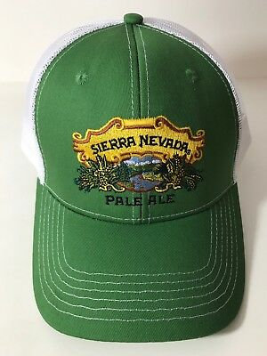 Sierra Nevada Brewing Pale Ale Mesh Truckers Hat Cap Snapback - OSFA - NEW & F/S