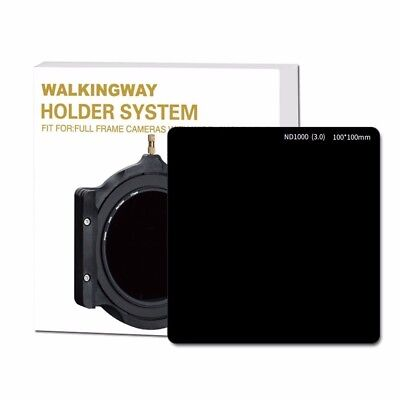 100*100mm 10-stop Optical Glass ND1000 Square Neutral Density Camera ND filter