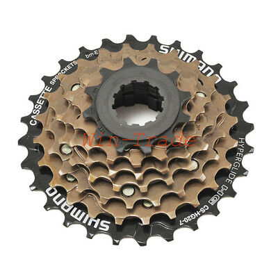 Shimano CS-HG20-7 MTB Road Bike Bicycle 7 Speed Cassette Sprocket 12-28T