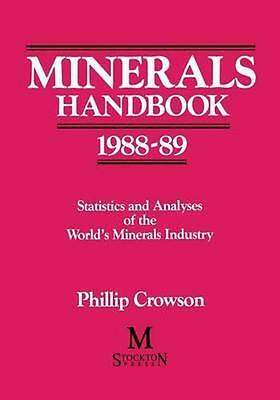 NEW Minerals Handbook 1988-89 BOOK (Paperback) Free P&H