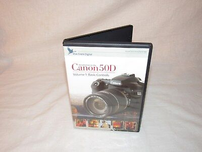 Introduction to the Canon EOS 50D: Basic Controls Training DVD