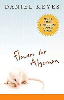 NEW Flowers For Algernon by Daniel Keyes BOOK (Paperback) Free P&H