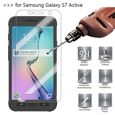 1/2/5PCS For Samsung S7 Active Clear Screen Protector HD Tempered Glass Film BY1