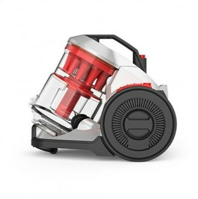 VAX Air Total Home CCQSAV1T1 Cylinder Bagless Vacuum Cleaner - Graphite and Red