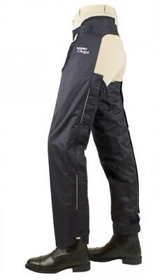 Horseware Rambo Adult Cotton lined full length waterproof chaps Medium BNWT