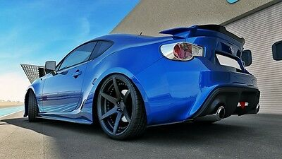 Cup Diffusor Ansatz Carbon Toyota GT86 Coupe Heck Flap Splitter rear Side 2012