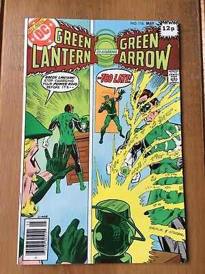 Green Lantern co-starring Green Arrow #116 May 1979  Bronze Age