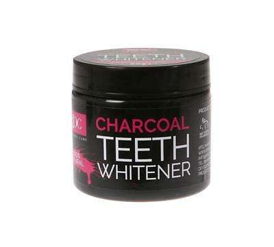 ** 2  X Xoc Charcoal Teeth Whitener 100% Natural 60G New ** Tooth Powder