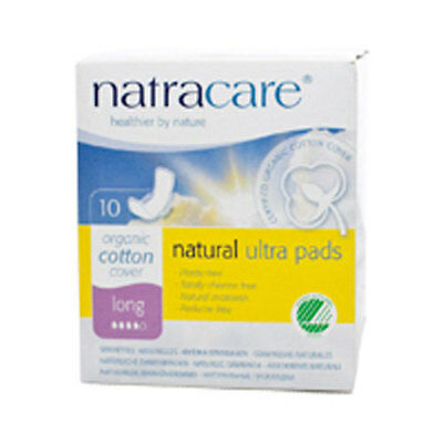 Ultra Long Pads with Wings 10 CT by Natracare