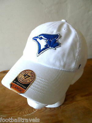 BLUE JAYS Toronto '47 BRAND Official CAP CASQUETTE TUQUE Hat baseball Tags White