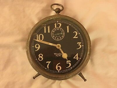 Westclox Big Ben Style 1A Luminous Dial for parts or restoration. 1925 patent