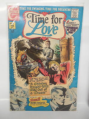 Time For Love Charlton Romance Comic Book #8 Shining Knight Cover