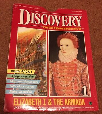 Discovery Magazine by Marshall Cavendish - Issue 1 Elizabeth I