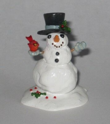 Wee Forest Folk - A21 JUST A LITTLE SNOWMAN accessory