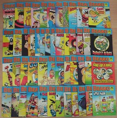"""Huge Collection of 49 """"BEANO COMIC LIBRARY"""". Early numbers 16 - 90. All listed"""