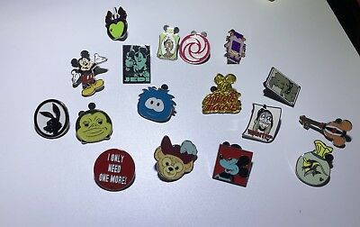 Disney Pin Trading Lot of 5 Assorted Pins - No Doubles - Tradable