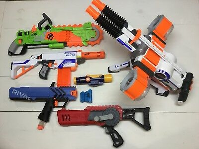 Nerf Gun Lot - featuring Rhino Fire and Retaliator
