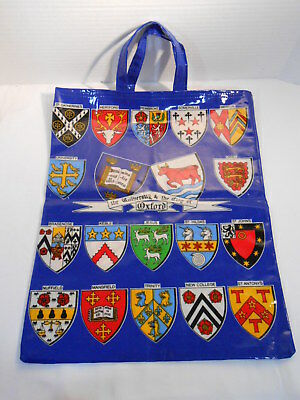 UNIVERSITY & CITY OF OXFORD Tote Bag by ULSTER WEAVERS PVC Cotton UK