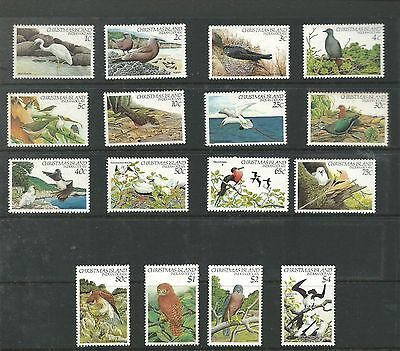 1982 Birds set of 16 all complete MUH/MNH as Issued