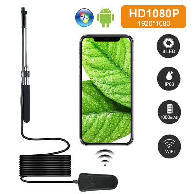 IP68 Waterproof Wifi 1080P Full HD Wireless LED Endoscope Camera for Android IOS