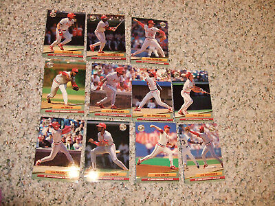 1992 Fleer Ultra  Lot Of 11 Of St Louis Cardinals. Mt  See Scan And Discription