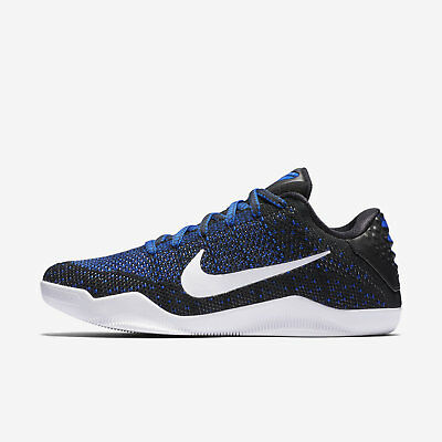 044ae8d63af Nike Kobe XI 11 Elite Low Mark Parker Muse Black White Racer Blue 822675 014