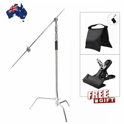 Professional Heavy Duty C-Stand Century Stand Gobo Arm Grip Head Studio Lighting